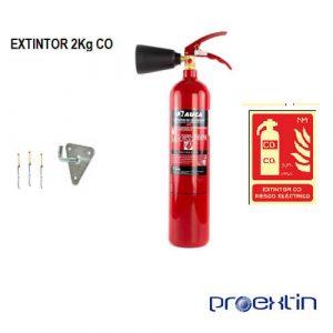 extintor CO 2 kilos