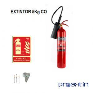 extintor 5 kilo CO