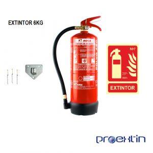 extintor 6 kilos