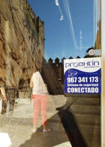 Castillo de Almansa seguridad